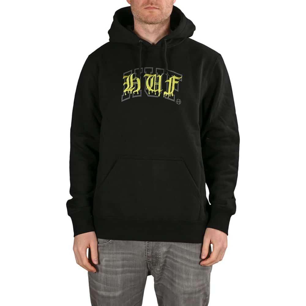 HUF Discordia Pullover Hoodie - Black