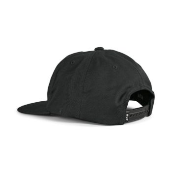 HUF Essentials Box Unstructured Snapback Hat - Black