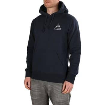 HUF Essentials TT Pullover Hoodie - Navy Blazer