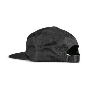 HUF Hexagon Volley 5-Panel Strapback Hat - Black