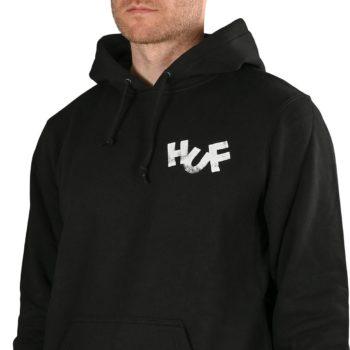 HUF x Haze Brush Pullover Hoodie - Black