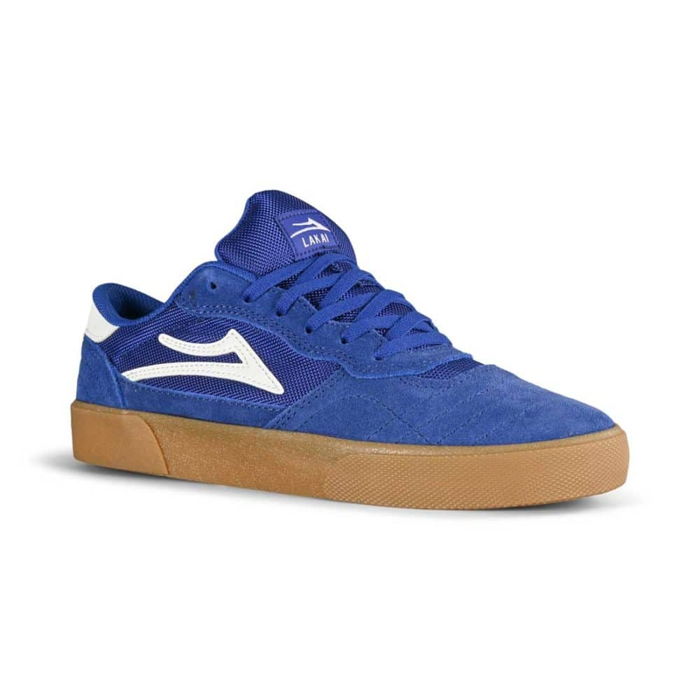 Lakai Cambridge Skate Shoes - Blueberry Suede