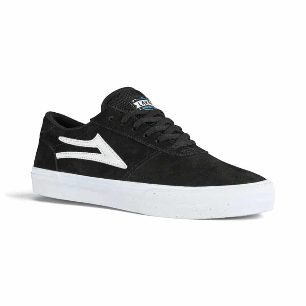 Lakai Manchester Skate Shoes - Black Suede