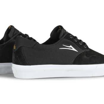 Lakai Riley 3 Skate Shoes - Black Suede