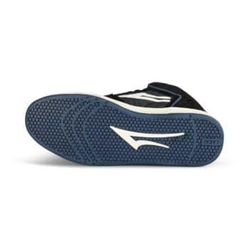 Lakai Telford High Top Skate Shoes - Black/Blue Camo