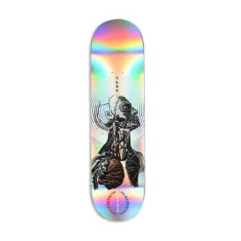"""Madness Clay Kreiner Inside Out 8.25"""" Skateboard Deck - Holographic"""
