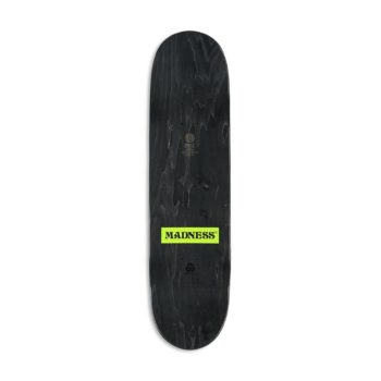 "Madness Donde R7 8.5"" Skateboard Deck - White"