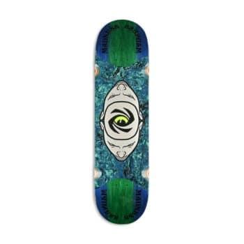 "Madness Minds Eye Popsicle Slick 8.125"" Skateboard Deck - Blue/Green"