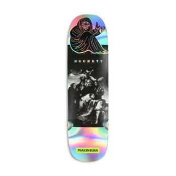 "Madness Sam Beckett Spell Bound 8.75"" Skateboard Deck - Holographic"