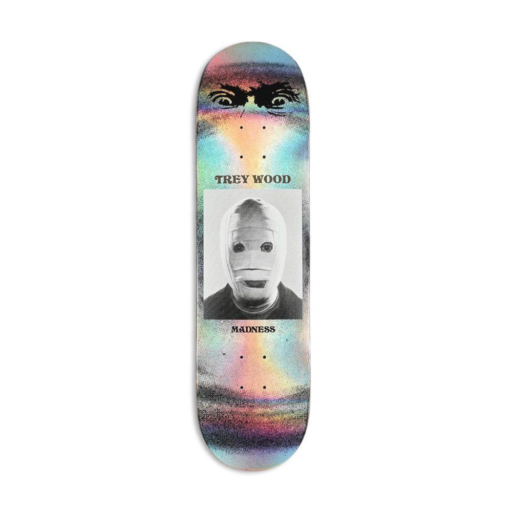 "Madness Trey Wood Bandage R7 8.25"" Skateboard Deck - Metallic Foil"