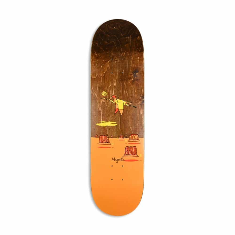Magenta Ben Gore Landscape Skateboard Deck