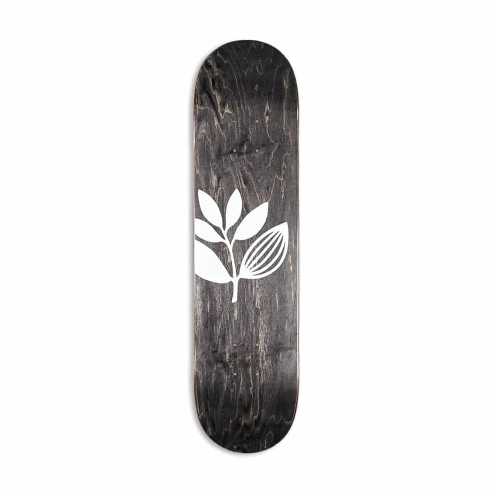 Magenta Big Plant Skateboard Deck