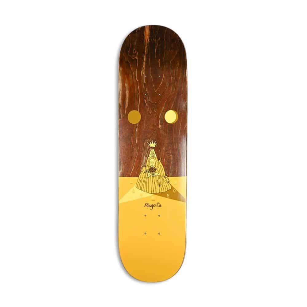 Magenta Jimmy Lannon Landscape Skateboard Deck