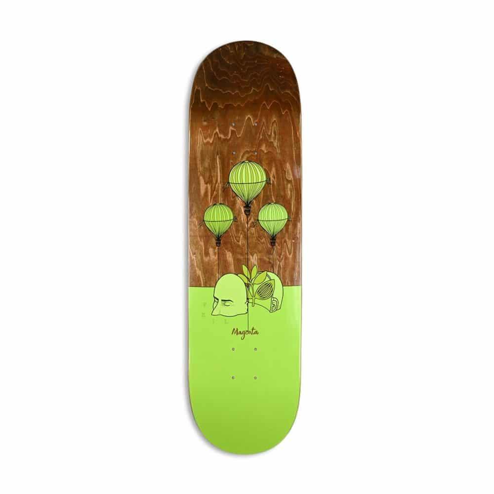 Magenta Vivien Feil Landscape Skateboard Deck
