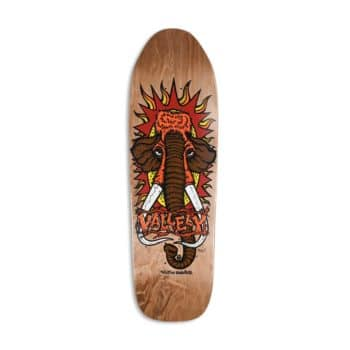 """New Deal Mike Vallely Mammoth 9.5"""" Reissue Skateboard Deck - Brown"""