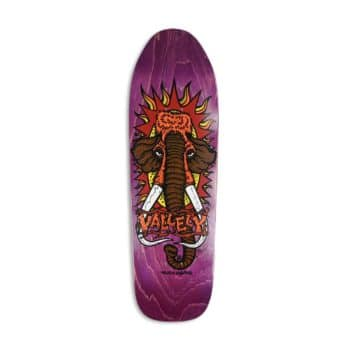 """New Deal Mike Vallely Mammoth 9.5"""" Reissue Skateboard Deck - Purple"""