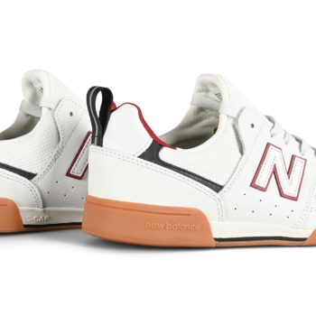 New Balance Numeric 288 Shoes - White/Red