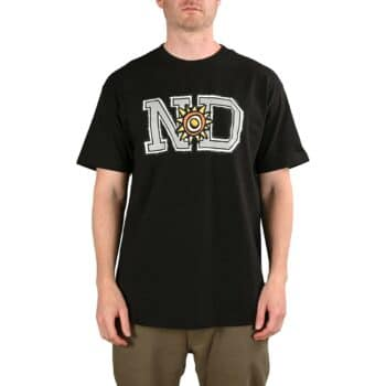 New Deal ND Price Point S/S T-Shirt - Black/Grey