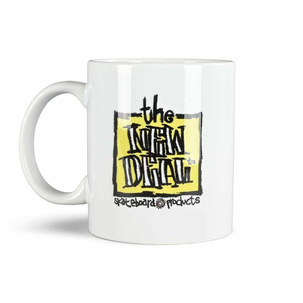 New Deal ND Sun/Napkin Mug - White