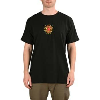New Deal Vallely Mammoth S/S T-Shirt - Black