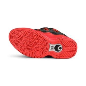 Osiris D3 2001 Skate Shoes - Black/Red/Rum