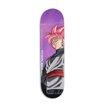 Primitive x DBS Silvas SSR Goku 8.125 Skateboard Deck - Purple