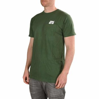 RIPNDIP Lord Nermal S/S Pocket T-Shirt - Olive