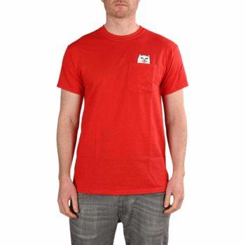RIPNDIP Lord Nermal S/S Pocket T-Shirt - Red