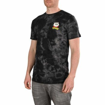 RIPNDIP Nermby S/S Pocket T-Shirt - Black Lightening Wash