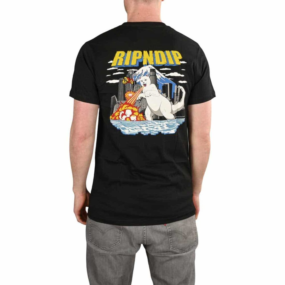 RIPNDIP Nermzilla S/S Pocket T-Shirt - Black