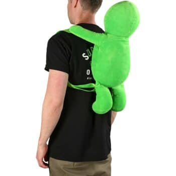 RIPNDIP Lord Alien Plush Backpack - Green