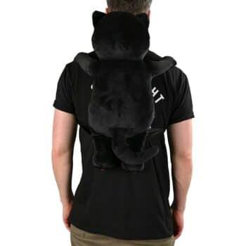 RIPNDIP Lord Jermal Plush Backpack - Black