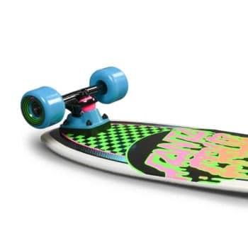 """Santa Cruz Rad Dot 27.7"""" Cruiser Skateboard - Shark Green"""