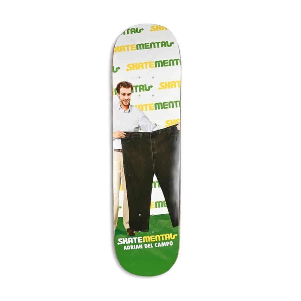 Skate Mental Adrien Del Campo Del Pantso Skateboard Deck