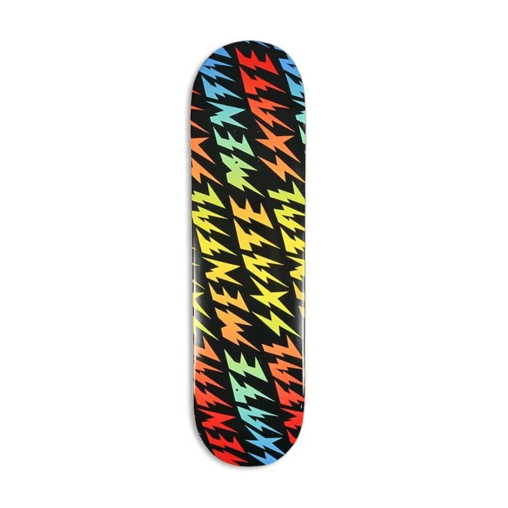 "Skate Mental Bolts 8.25"" Skateboard Deck - Black"