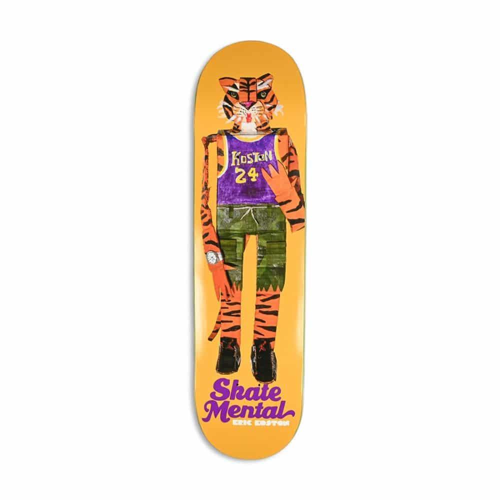 Skate Mental Eric Koston Tiger Doll Skateboard Deck