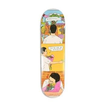 "Skate Mental Jarne Flowers 8.25"" Skateboard Deck"