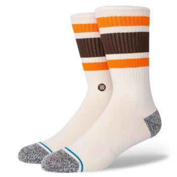 Stance Boyd Staple Crew Socks - Off White