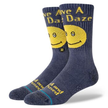 Stance Have A Nice Daze Crew Socks - Blue