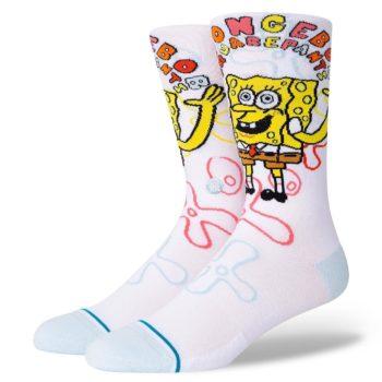 Stance Imagination Bob Crew Socks - White