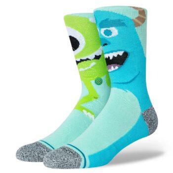 Stance Monstropolis Crew Socks - Turquoise
