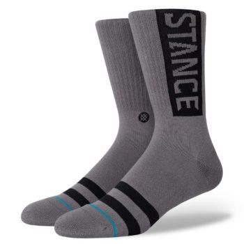 Stance OG Crew Socks - Graphite