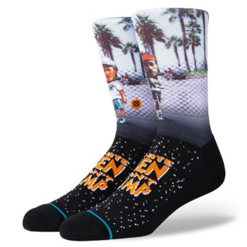 Stance Sid and Billy Crew Socks - Black