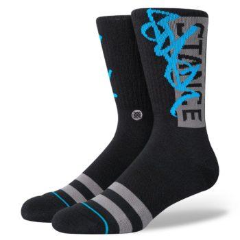 Stance Stash OG Crew Socks - Black