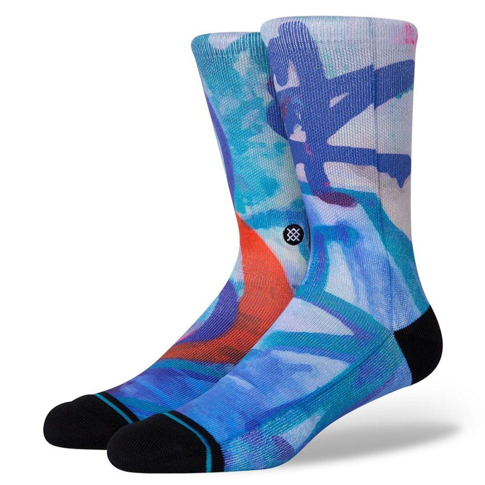 Stance Stash Wall Crew Socks - Blue