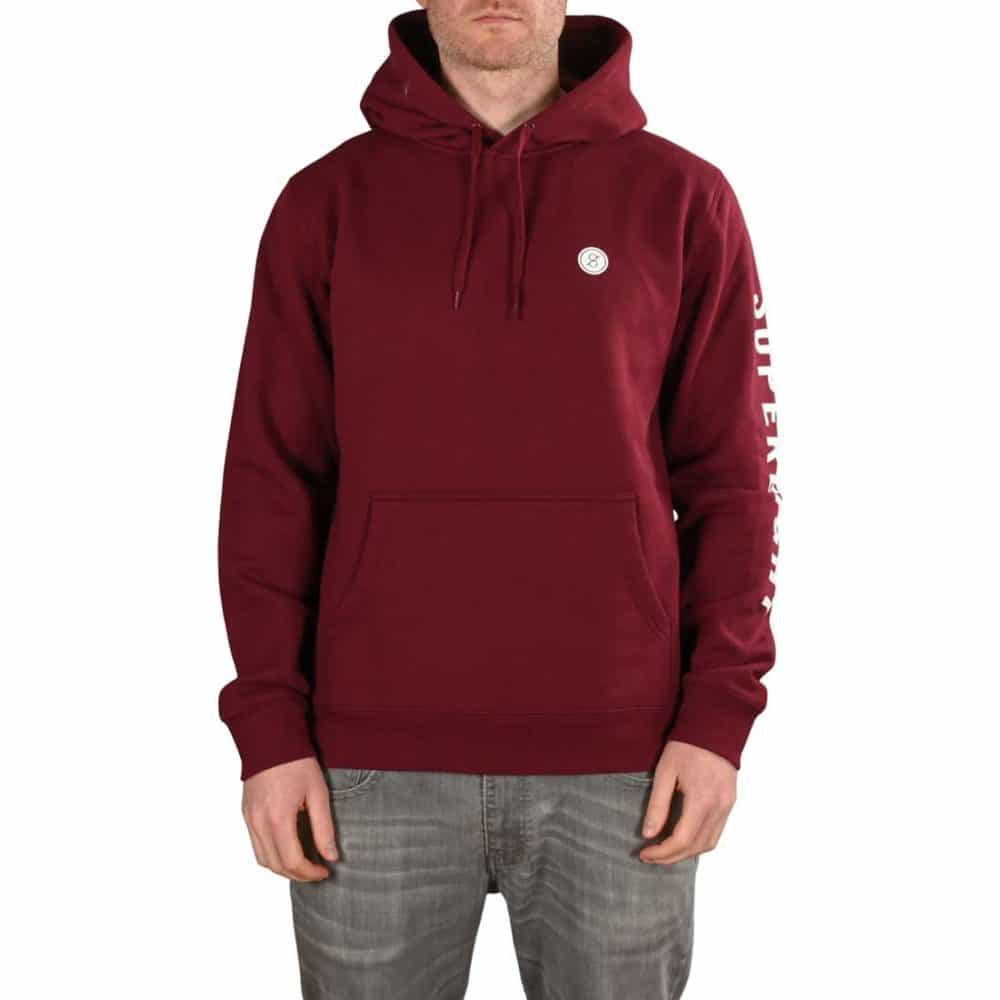 Supereight Supply Co Icon Pullover Hoodie - Burgundy