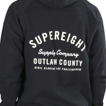 Supereight Supply Co Outlaw Zip-up Hoodie - Navy