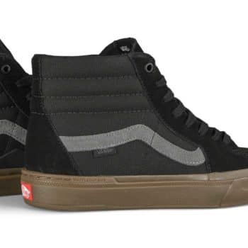 Vans Sk8-Hi BMX Shoes - Black/Dark Gum