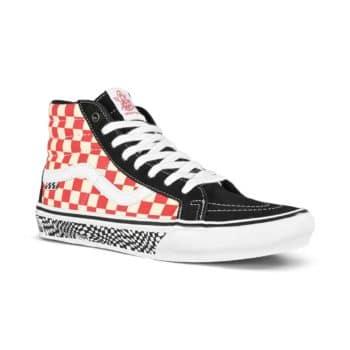 Vans Sk8-Hi Grosso '84 Reissue Shoes - Black/Red Check