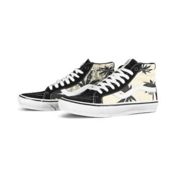 Vans Sk8-Hi Grosso '88 Reissue Shoes - Black/Palms